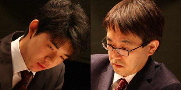 藤井聡太五段、羽生善治竜王との公式戦初対局で勝利