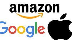 Google, Amazon,