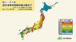 またこの季節が… 東京都内でスギ花粉の飛散開始が確認される