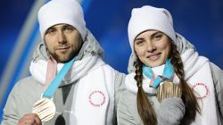 カーリング混合ダブルスで銅メダルのOAR選手、ドーピング検査陽性か 海外で報道