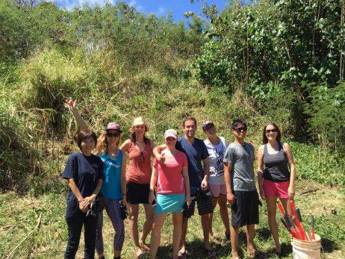 ハワイの自然種を守ろう。エコアドベンチャーツアーに参加しました。