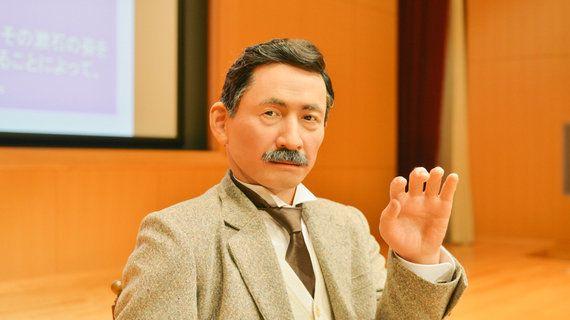 漱石を甦らせたのは、科学と文学。石黒浩教授に記者が聞く漱石アンドロイド創造秘話【前編】