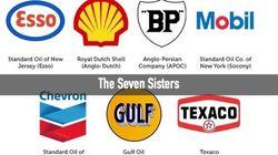 国際石油資本・セブンシスターズの系譜を見れば、石油社会の縮図がわかる