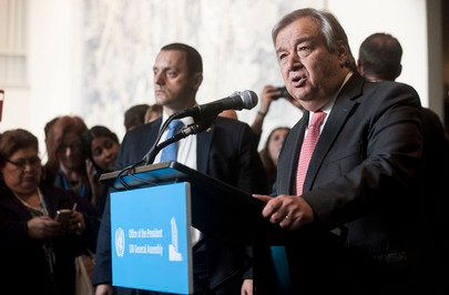 この人に聞く:次期国連事務総長に任命されたアントニオ・グテーレス氏