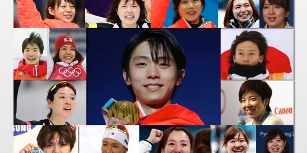 これが、日本人メダリスト16人だ。連覇や2冠に初めてのメダル、喜びの瞬間をもう一度(画像)