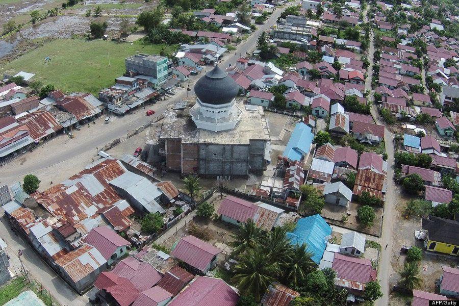 スマトラ島沖地震から10年、めざましい復興が分かる比較写真