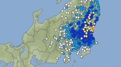 【地震情報】茨城県北部や福島県中通りで震度4