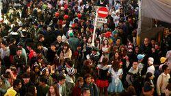 ハロウィン到来、各地で大混雑 市場規模はバレンタインデーに匹敵(画像集)