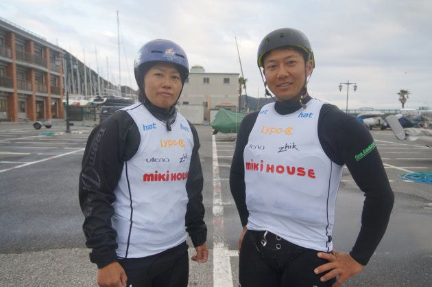 梶本選手と川田選手
