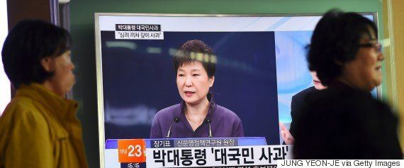朴槿恵大統領に介入疑惑の崔順実氏、韓国に電撃帰国