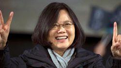蔡英文氏、女性初の総統に 台湾総統選で民進党が勝利