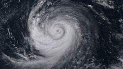 木曜から影響 非常に強い台風13号