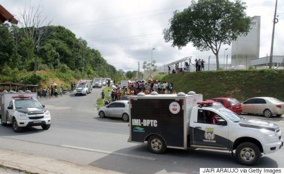 ブラジルの刑務所で暴動、60人が死亡 ギャング同士の衝突で首を切り落とされた囚人も