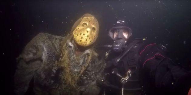 「13日の金曜日」のジェイソン、湖底に潜んでいた(動画)