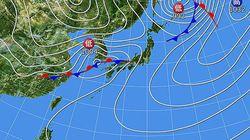 3月5日は激しい雷雨、気温急降下