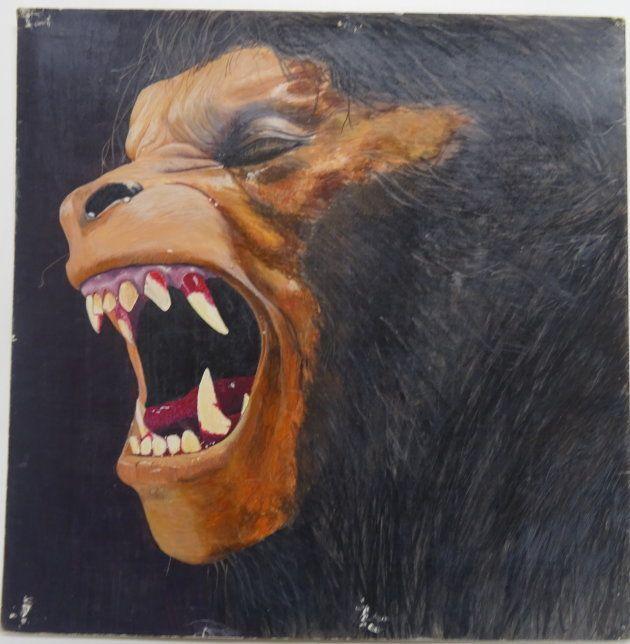 辻さんが高校生のときに描いた「狼男」