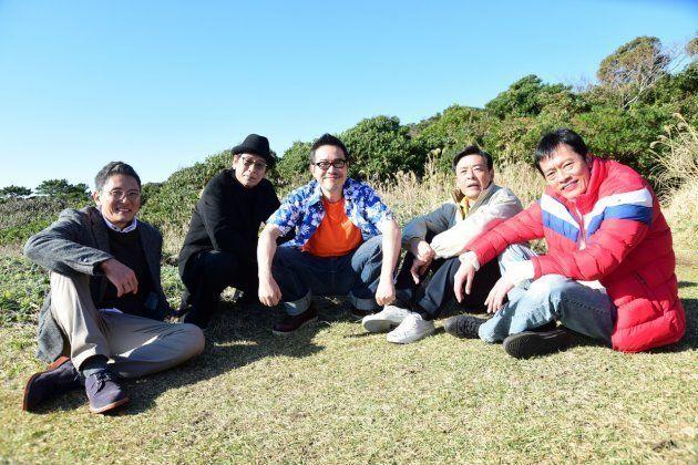 (左から)松重豊さん、大杉漣さん、田口トモロヲさん、光石研さん、遠藤憲一さん