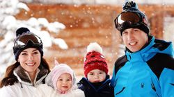 ウィリアム王子一家、アルプスでスキー旅行を楽しむ【画像集】
