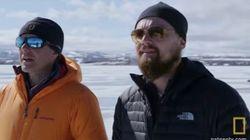 レオナルド・ディカプリオが気候変動番組に出演「奇妙で、非現実的な映画の中にいるようだ」
