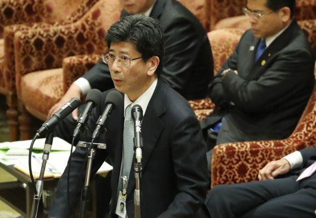 衆院予算委員会で答弁する財務省の佐川宣寿理財局長(当時)。撮影日:2017年02月24日