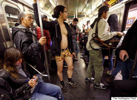 「ノーパンツデー」世界中で不思議な人々が目撃される(画像)
