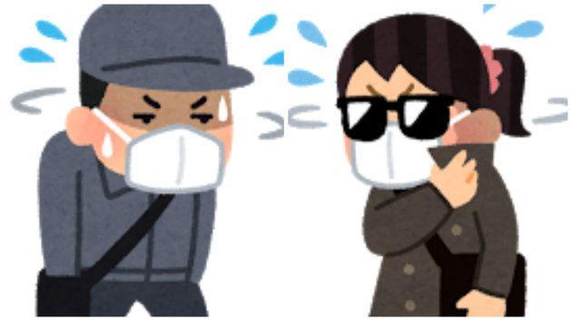 不審者のイメージといえば「サングラスにマスク」⇒大阪府警「そんな不審者いません」とツッコミ