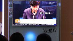 韓国の朴槿恵大統領、知人女性に演説文など事前流出 スキャンダルで最大の窮地に