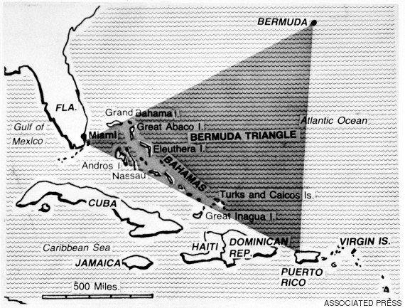 バミューダ・トライアングルの謎、ついに解明?