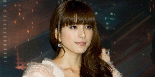 SEOUL, SOUTH KOREA - SEPTEMBER 27: Japanese actress Uehara Takako attends the 'Fugitive Plan B' press...