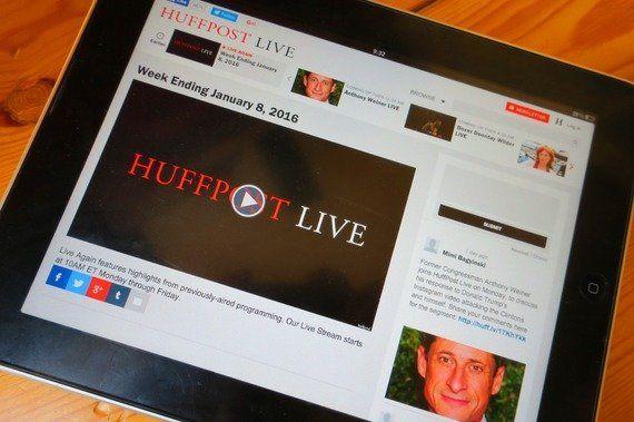 動画にも〝分散型メディア〟の波、米ハフィントン・ポストが「ライブ」終了