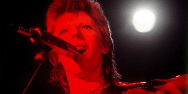 SANTA MONICA, CA - OCTOBER 20: David Bowie performs at the Santa Monica Civic Auditorium on October 20,...