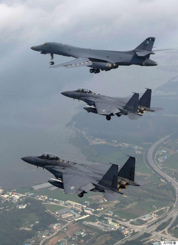 グアムのB1爆撃機、北朝鮮攻撃の準備完了 米軍幹部らがNBCに明かす