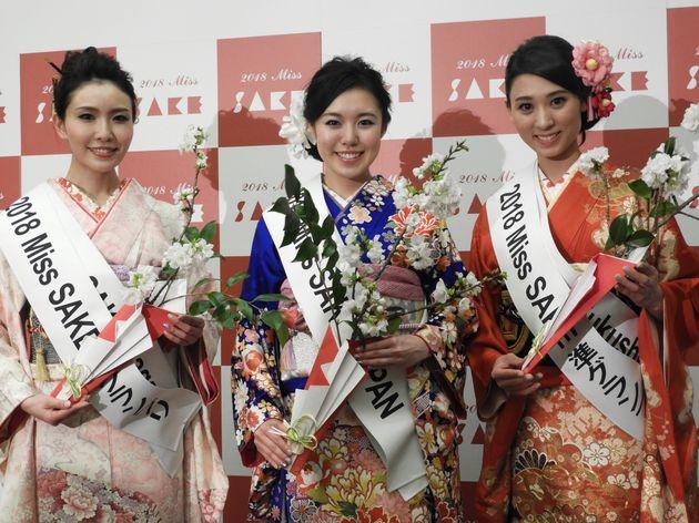 「健康はよいお酒から」2018ミス日本酒グランプリ