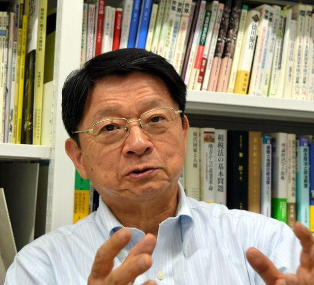 片山善博・早稲田大大学院教授