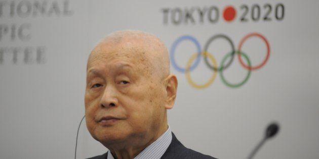 TOKYO, JAPAN - JANUARY 22 : Tokyo 2020 President Yoshiro Mori and IOC Vice President, Chairman of the...