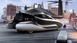 この空飛ぶ自動車を作っている会社は実在する企業か?...どうやら投資目当ての詐欺ではなさそう