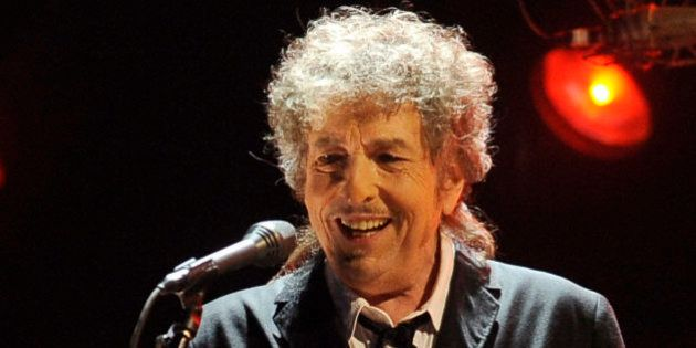 FILE - In this Jan. 12, 2012 file photo, Bob Dylan performs during the 17th Annual Critics' Choice Movie...
