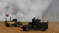 ISが化学工場に放火、イラク北部に有毒な煙が立ち込める 化学兵器も使用か