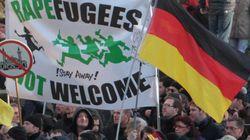 ドイツの集団性的暴行、極右の抗議デモが暴徒化 難民規制は強化へ(画像)