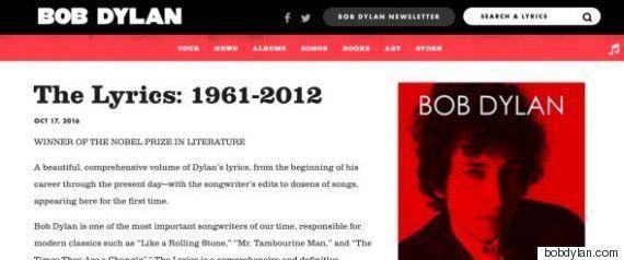 ボブ・ディランのノーベル文学賞受賞。かつて誰よりもこき下ろした大作家がいた