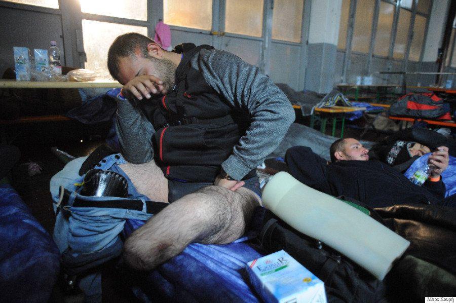 脚を失ったシリア難民、ベルリンを目指す その危険な長旅の記録【画像集】