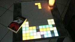 テトリスなどレトロゲームが自宅のテーブルで楽しめる?