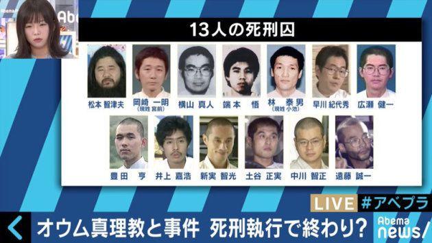13人の死刑囚
