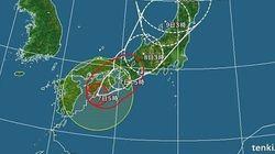 【台風情報】台風5号が四国・近畿に上陸の恐れ 西日本を中心に大荒れ
