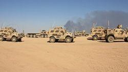 性奴隷を収容していたISの施設は今、モスル奪還のために戦うアメリカ軍の司令部になった