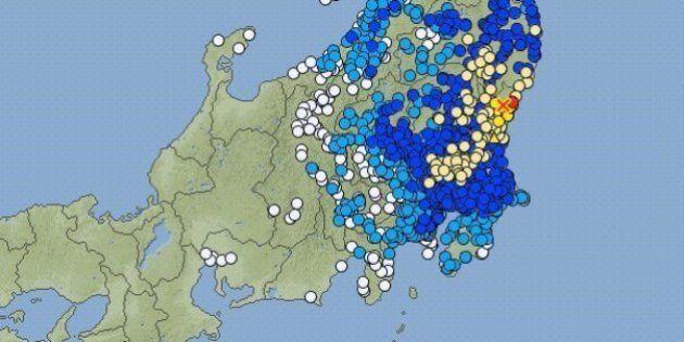【地震情報】茨城県高萩市で震度6弱 関東・東北の広い地域で揺れを観測