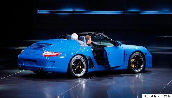 ポルシェ、新型「911スピードスター」を公開か 9月のフランクフルト・モーターショー
