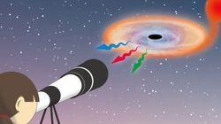 ブラックホールに由来する可視光での、激しい変動の正体は?(観測結果)