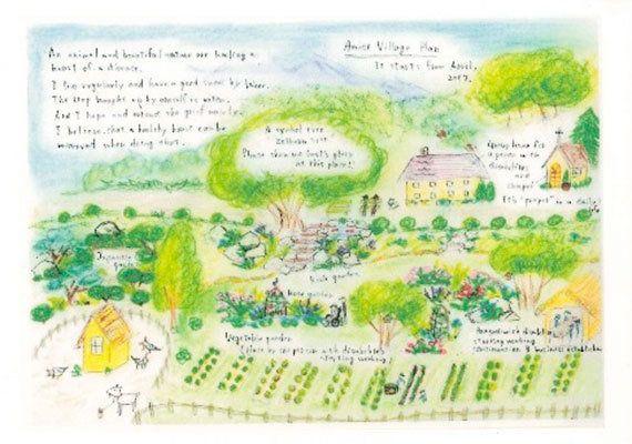 東日本大震災:行き場のない方たちのために...山林を開拓してオープン