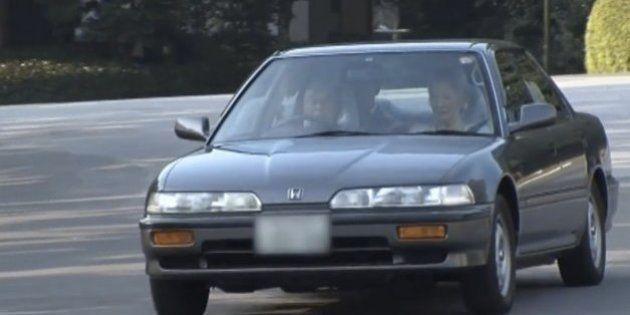 天皇陛下が免許更新。愛車のホンダ・インテグラで高齢者講習